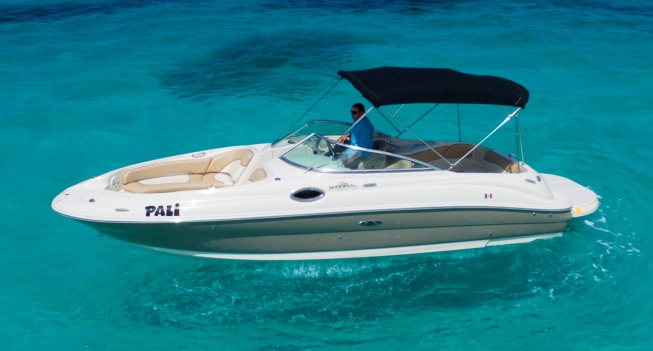 Searay 24 deluxe private boat 1