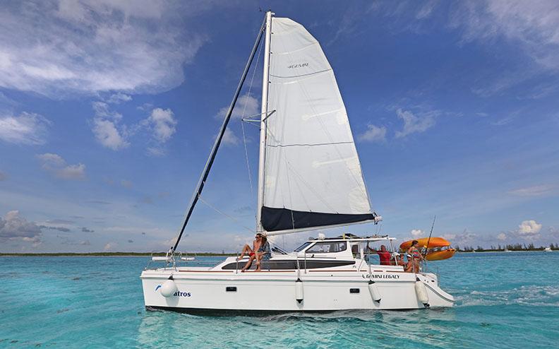 Catamaran 35 ft our boats