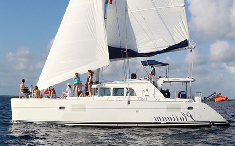 catamaran 45 ft our boats