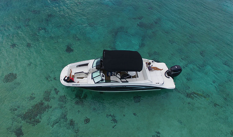 searay 28 ft our boats