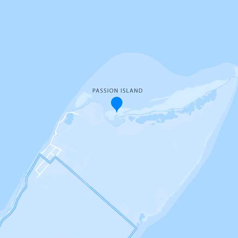 Mapa Cielo Isla