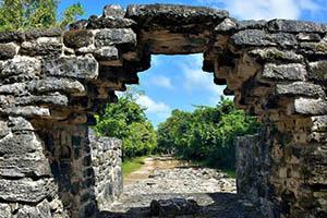 San Gervasio Cozumel Mexico