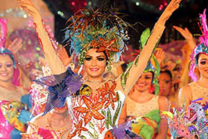 Colors of Carnival Cozumel