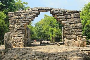 San Gervasio Cozumel ruin