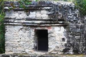 pyramid San Gervasio Cozumel