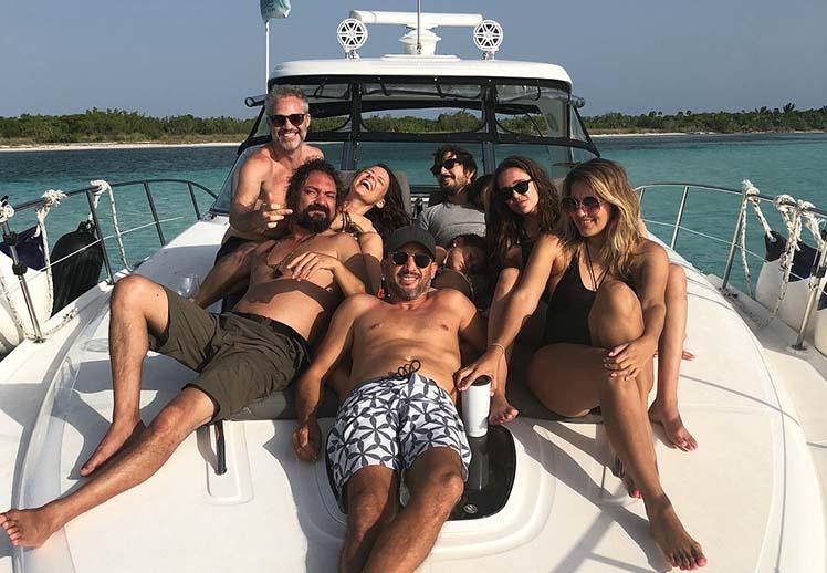 Friends Celebrations Private Boat