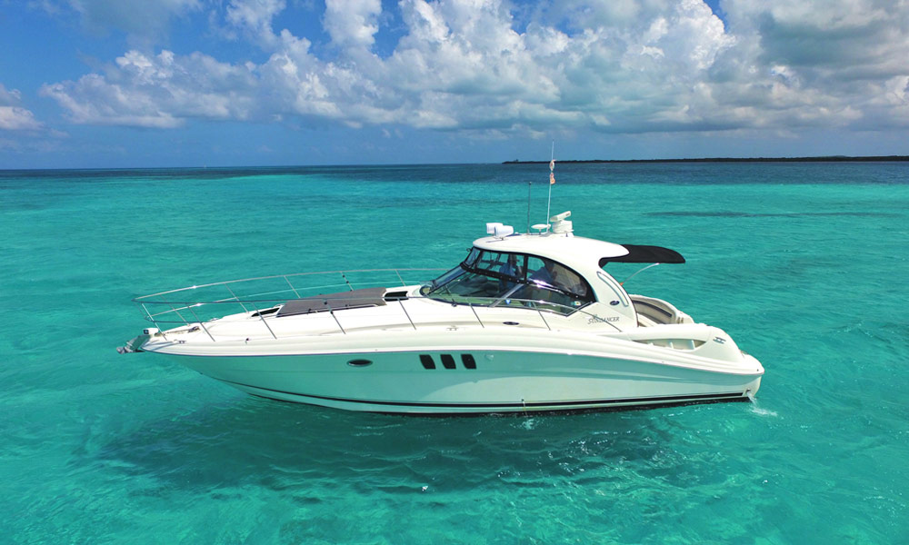 Sea Ray, Deluxe Cozumel, Sea Ray, Yachts Cancun, private beach, El Cielo Cozumel