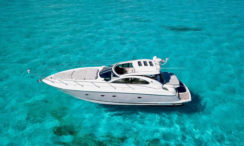 Sunseeker, Cozumel Yachts, cancun, El Cielo Cozumel, Deluxe
